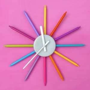 membuat jam dinding tugas sekolah dari styrofoam tugas tik kreasi membuat jam dinding untuk di kamar