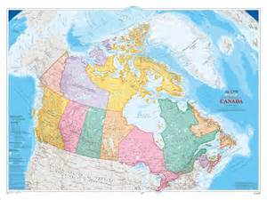 canada wall map shop at everywheremaps store
