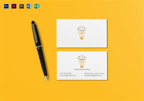 minimal business card template clean minimal business card template in psd word