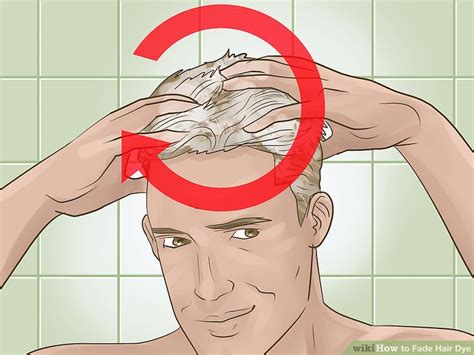 how to fade hair color 3 ways to fade hair dye wikihow