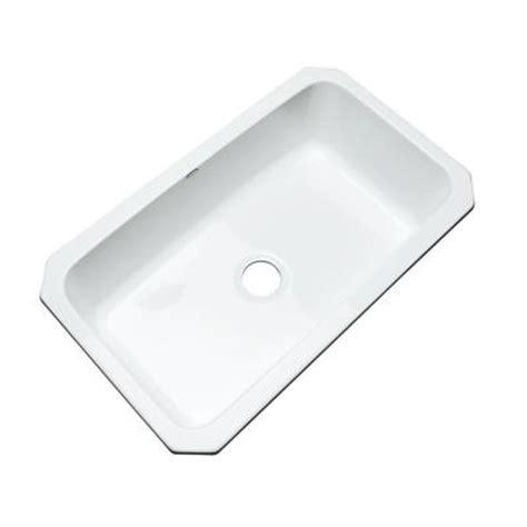 kitchen sinks manhattan undermount acrylic 33x19 5x9 in
