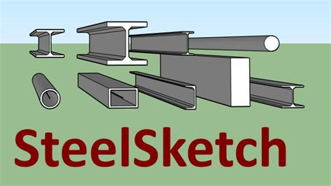 steelsketch sketchup extension warehouse