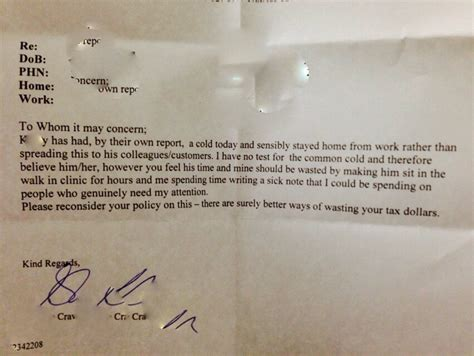 Patient Sick Letter See The Purported Doctor S Note To Patient S Employer That Has More Than 4 Million Views Theblaze