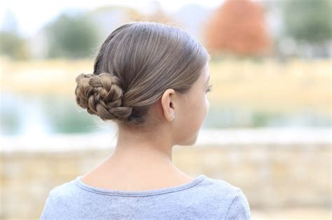 braided hairstyles hunger games prim s braided bun updo mockingjay hairstyles cute