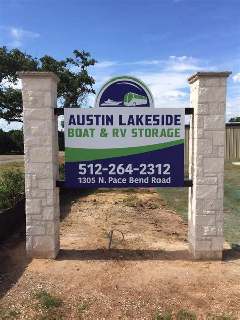 boat storage austin tx austin lakeside boat rv storage lake travis tx