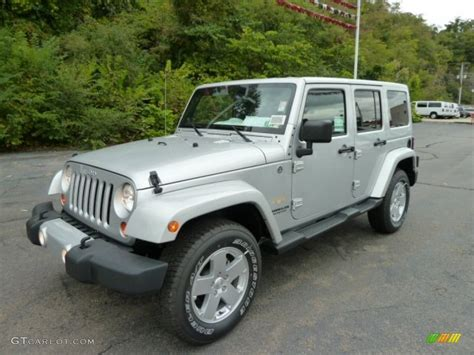 jeep silver 2012 bright silver metallic jeep wrangler unlimited