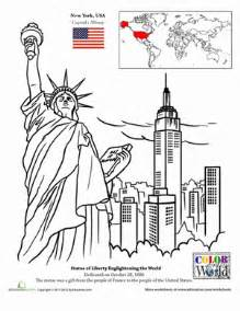 color nyc new york city worksheet education