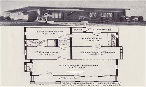 Early 1900s House Plans Small Two Story Bungalow Houses Small Bungalow House Floor Plans Early 1900s House Plans