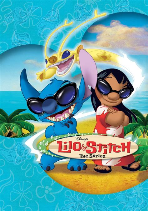 Lilo Sticth The Series lilo and stitch complete tv series 6 dvd set