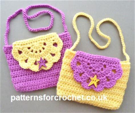 crochet pattern child purse child s purse by patterns for crochet crochet pattern