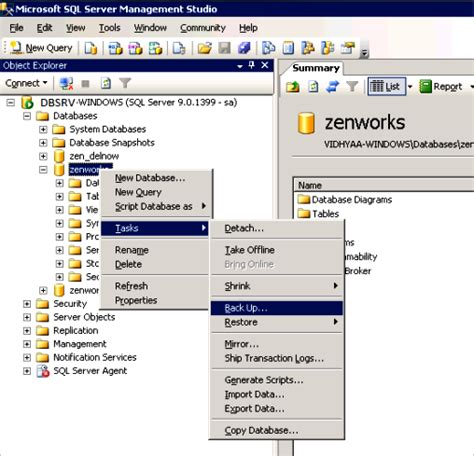 Sql Server Change Table Owner Novell Doc System Planning Deployment And Best Practices Guide Zenworks Database May 17 2013
