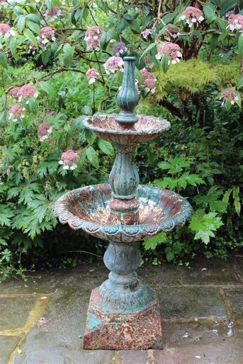 century cast iron fountain garden fountains