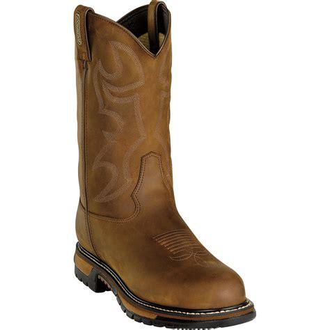 mens size 15 cowboy boots rocky s 11in branson waterproof western boot steel