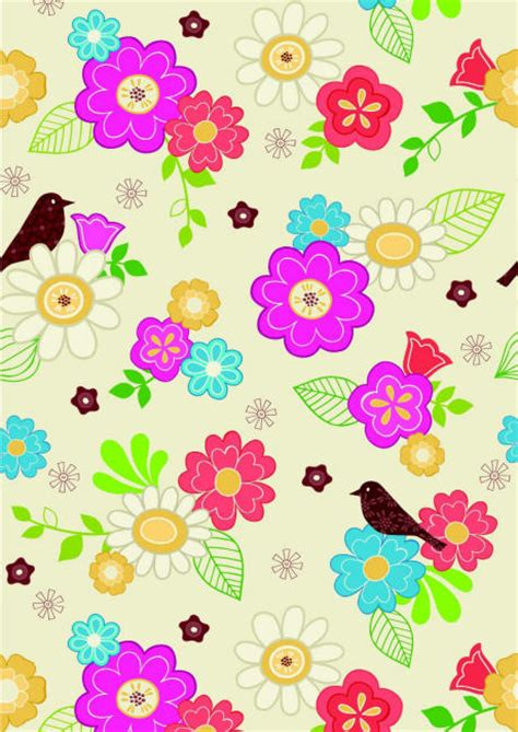 printable flowers for scrapbooking scrapbook paper flowers and bird design cliquer au