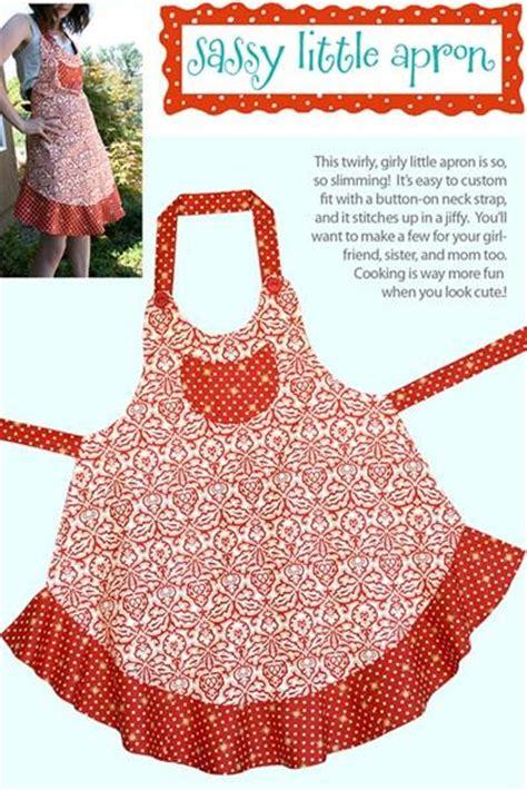 apron jazz pattern sassy little apron pattern cabbage rose