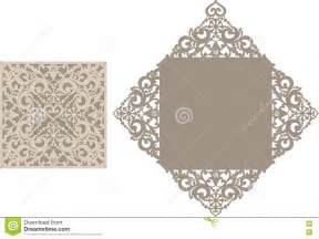 Laser Cut Templates by Laser Cut Envelope Template For Invitation Wedding Card
