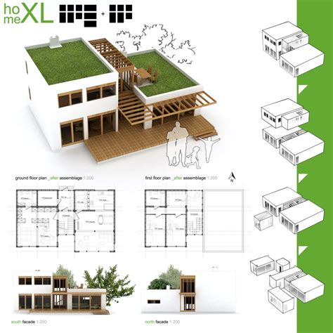 green home design plans winners of habitat for humanity s sustainable home design