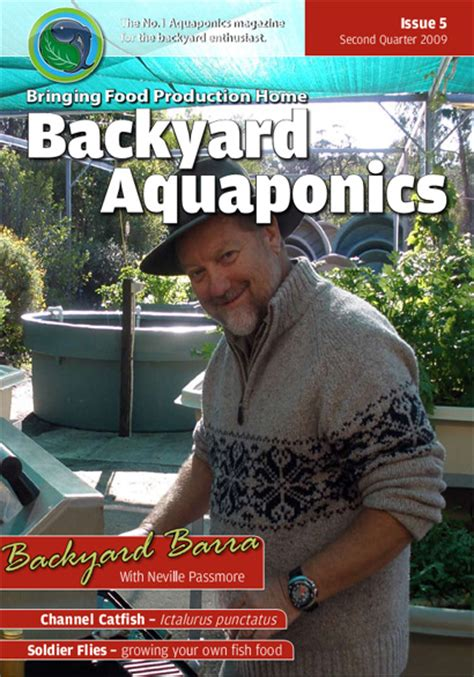 backyard aquaponics emagazine edition 5 backyard magazines