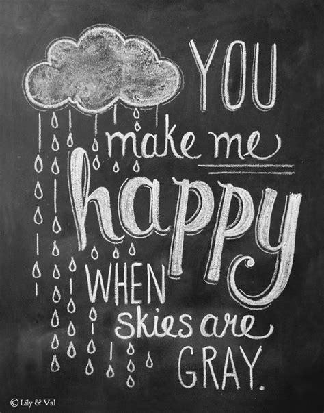 you are my sunshine printable lyrics artwork chalkboard you make me happy rain cloud print 10 vintage chalkboard