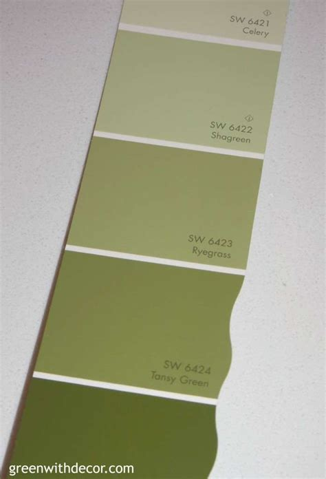picking paint colors green with decor picking paint colors