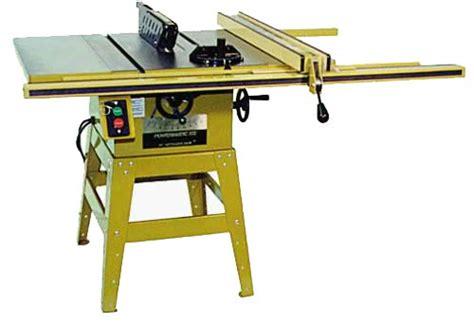 powermatic table saw powermatic contractor saw by tool junkie lumberjocks