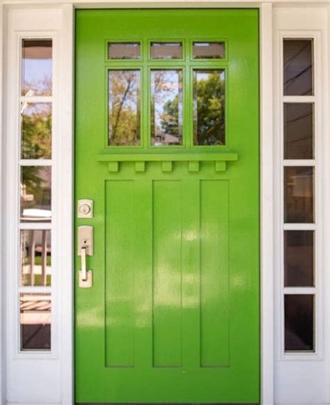Feng Shui Front Door Color by Feng Shui Of Front Doors In Green And Brown Colors Feng