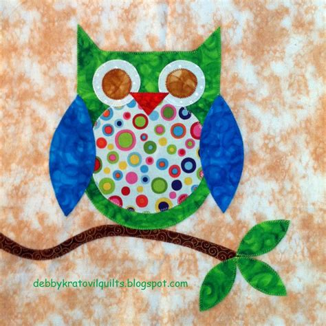 Barn Owl Hoot Quilt Inspiration Free Pattern Day Owls