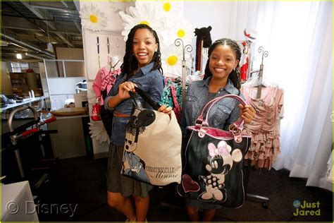chloe and halle bailey acting chloe halle bailey minnie makeover ahead of radio