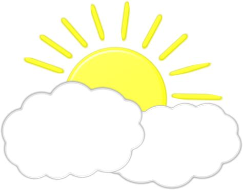 cloud clipart clouds and sun clipart 101 clip