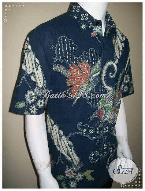Baju Kemeja Batik Lelaki baju batik lelaki pusat baju batik tulis elegan dan eksklusif ld204t xl toko batik 2018