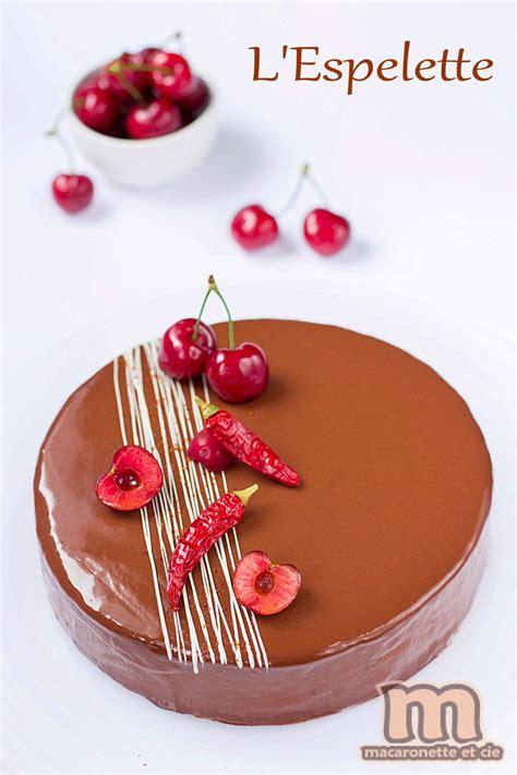 L'Espelette : Entremets Cerise - chocolat au piment d ... Gateau De