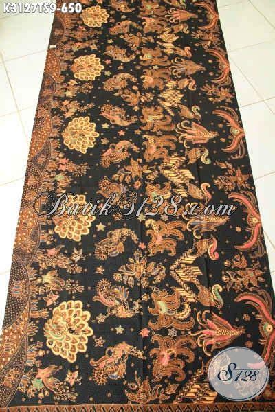 Kain Batik Sogan Jawa Premium 002 jual kain batik halus batik kain premium tulis soga batik jawa tengah premium untuk busana