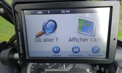 Garmin 5 Motorrad Navigator by Essai Gps Moto Bmw Navigator 5 Le Cerveau Au Bout Des Doigts