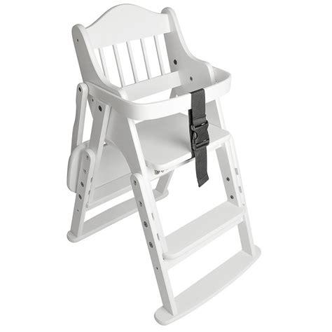 safetots folding wooden high chair safetots folding wooden high chair white wood safetots