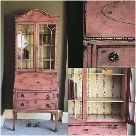 chalkboard paint pink faded grandeur style finished in scandinavian