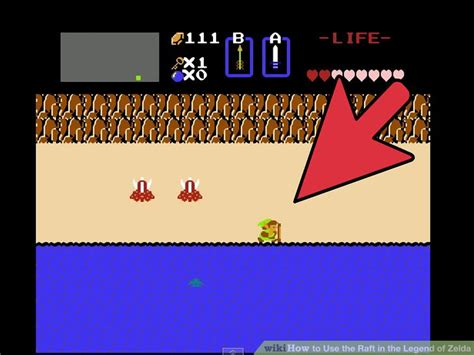 legend of zelda map raft how to use the raft in the legend of zelda 9 steps