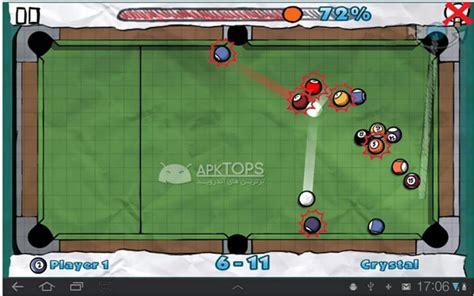 doodle pool hd دانلود بازی بیلیارد با قابلیت بازی 2 نفره با گرافیک