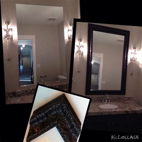 Bathroom Mirrors For Less 17 Best Images About Frames For Existing Mirrors On