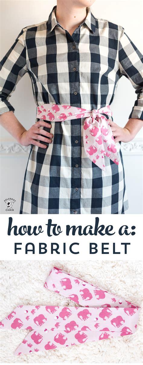 fabric belt  sash  polka dot chair