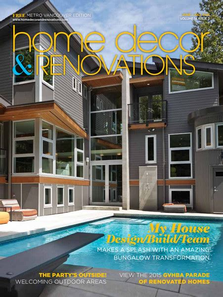 home design magazine vancouver vancouver home decor renovations jun july 2015 home
