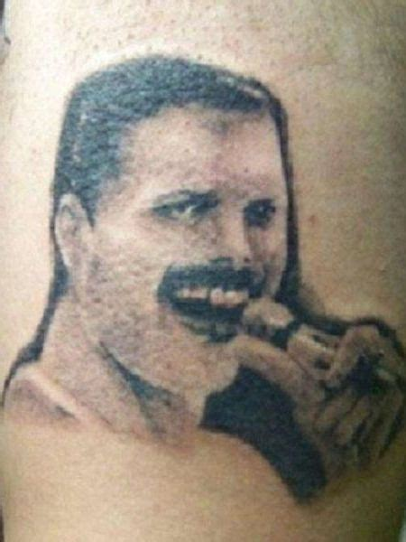 tattoo fail you re dead 15 hilariously terrible tattoos of celebrity faces worst