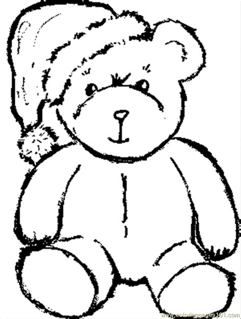 free tribal bear coloring pages