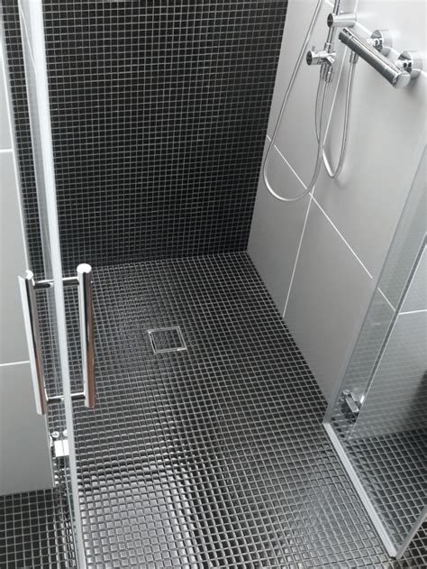 dusche boden mosaik fliesen dusche boden jc31 hitoiro