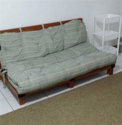 sofa cama tipo futon estrado para cama tipo futon vazlon brasil