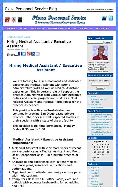 117 best medical assistant job opportunities in san diego
