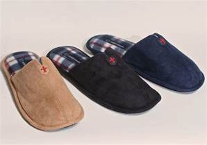 mens leather bedroom slippers new men s faux leather w soft plaid inner bedroom house