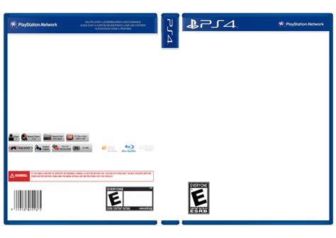 ps4 game box template www pixshark com images