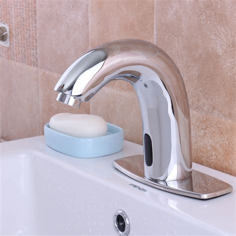 automatic sensor touchless faucet free bathroom sink