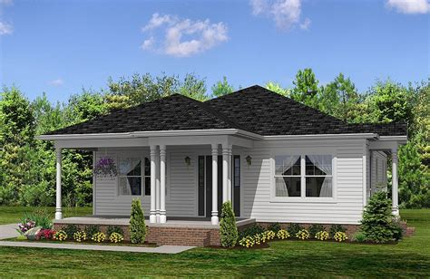 Small House Plans Louisiana Frentes De Casas Con Techos A 4 Aguas