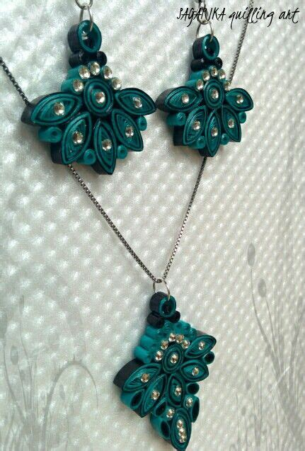 quilling necklace tutorial quilling necklace set 4 amazing quilling jewelry